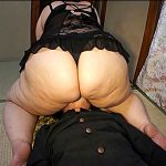 淫らな巨漢デブ熟女が男を連れ込んで爆尻で潰して貪り喰らう肉布団セックス動画